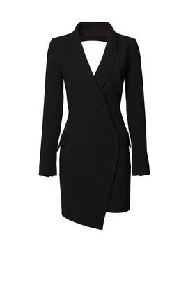 Black Tux Sheath by Haute Hippie