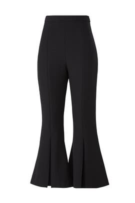 Black Revolve Pants by Keepsake