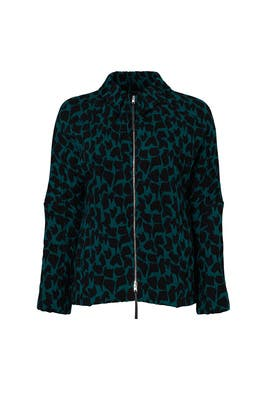 Green Spherical Jacket by Marni