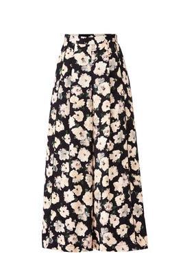 Pansy Floral Pants by Proenza Schouler