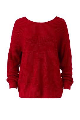 In Bloom Twist Sweater by somedays lovin