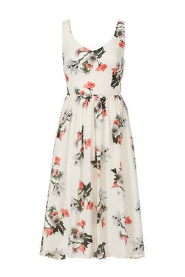 Ivory Petals Dress by BB Dakota