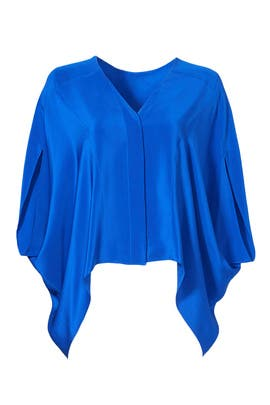 Vivid Blue Blouse by DEREK LAM