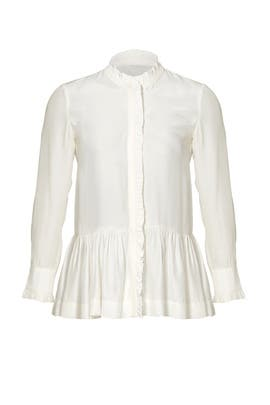 White Violet Shirt by PIAMITA