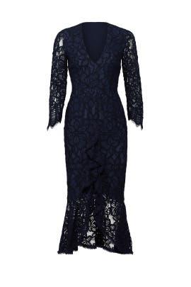 Navy Nadege Dress by Alexis