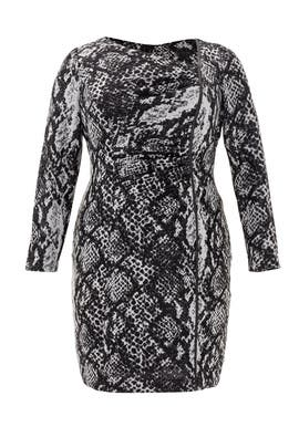 Play In Python Dress by Kay Unger