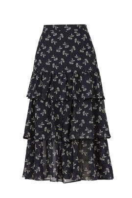 Bloom Frilled Skirt by The Kooples