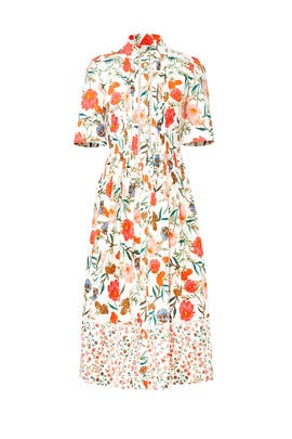 Blossom Poplin Shirtdress by kate spade new york