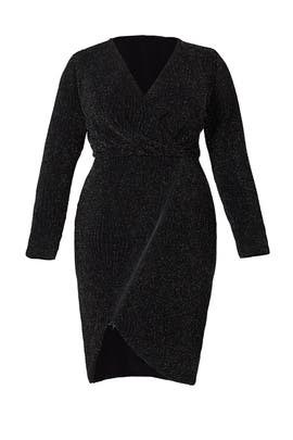 Black Silver Sparkle Dress by Rachel Rachel Roy
