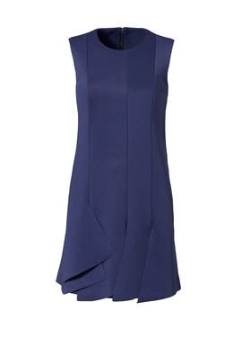 Keno Knit Layered Dress by Tibi