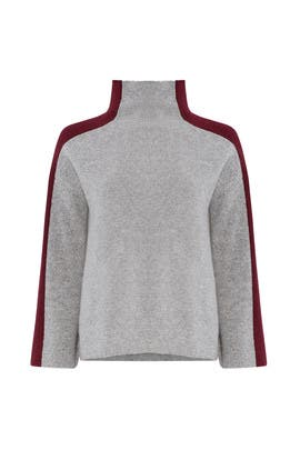 Gray 2-Tone Sweater by BROWN ALLAN