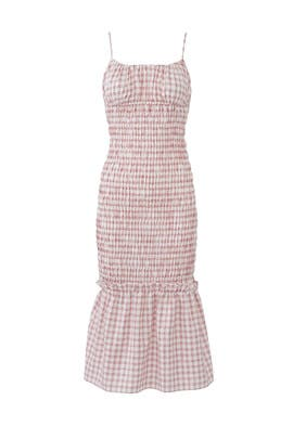 Cherry Check Merci Dress by FINDERS KEEPERS