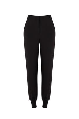 Black Jogger Pants by KENDALL + KYLIE