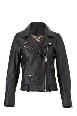 Classic Leather Biker Jacket by Scotch & Soda