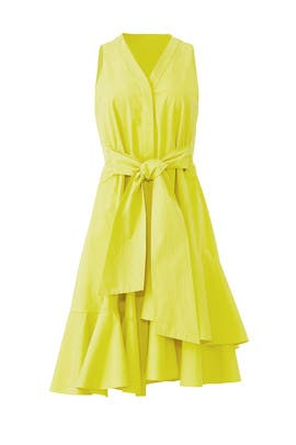 Citron Sleeveless Dress by Josie Natori