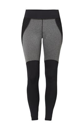 Heather Black Shadow Legging by MICHI