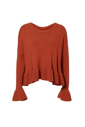 Rust Seren Sweater by Cinq à Sept