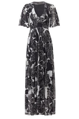 Deco Floral Maxi by Fuzzi