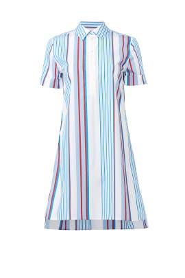 Striped Clarissa Shirtdress by Equipment