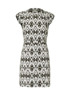 Orinthia Ikat Dress by Theory