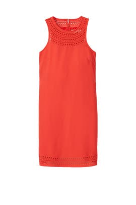 Coral Cutout Dress by Trina Turk