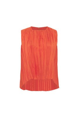 Pleated Shell Top by VINCE.