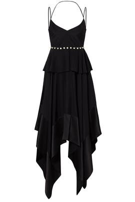 Black Handkerchief Dress by Prabal Gurung