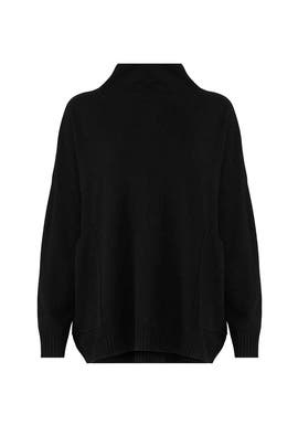 Black Big Easy Sweater by BROWN ALLAN