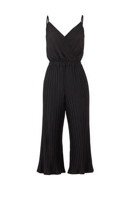 Pleated Austine Jumpsuit by cupcakes and cashmere