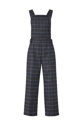Plaid Wool Overalls by EVIDNT