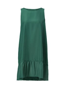 Hunter Green Cynthia Dress by Karen Zambos