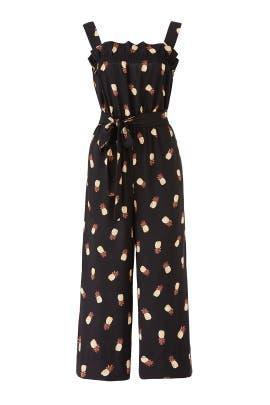 Black Pineapple Jumpsuit by kate spade new york