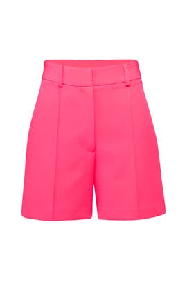 Hayden Pintuck Shorts by Milly