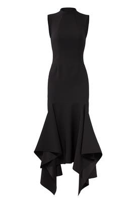 Black Klara Dress by Solace London