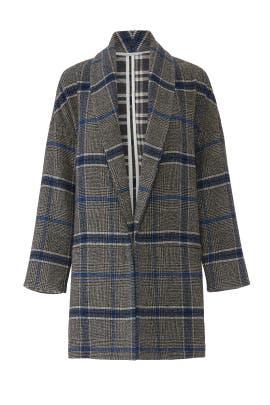 Grey Plaid Jacket by sita murt