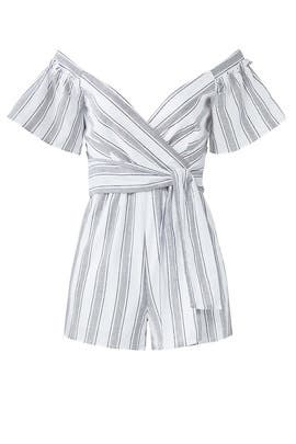 Striped Margo Romper by Saylor