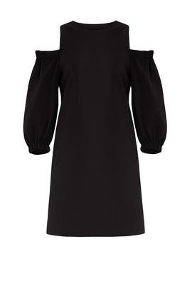Structured Shift Dress by Tibi