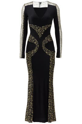 Vine Gown by Blumarine