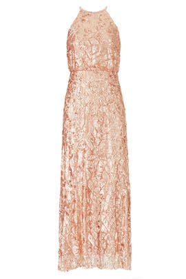 Rose Gold Tiffany Gown by Donna Morgan