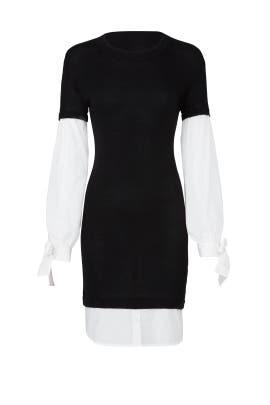 Black Flare Dress by devlin