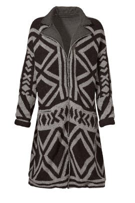 Bold Geo Sweater Coat by Free People