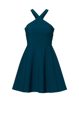 Blue Carolyn Dress by LIKELY
