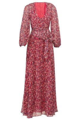 Red Blossom Maxi by Nicholas