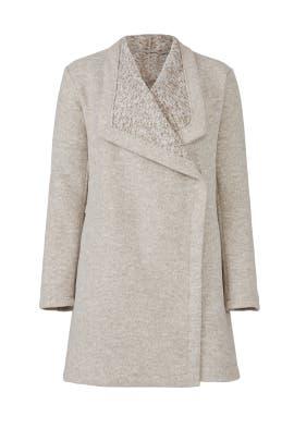 Draped Fleece Jacket by BB Dakota