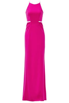 Pink Keena Gown by Badgley Mischka