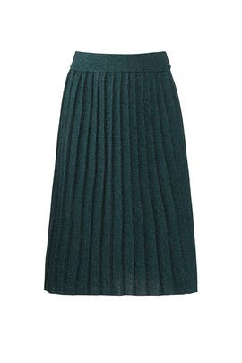 Clarice Knit Pleated Skirt by Deby Debo