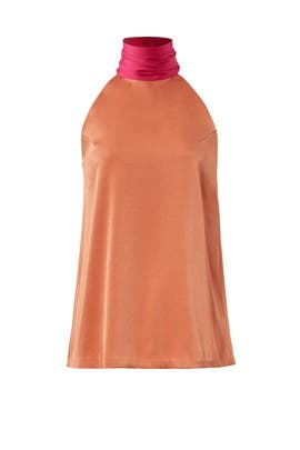 Orange Sash Top by GALVAN