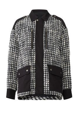 Garden Tweedy Jacket by The Kooples