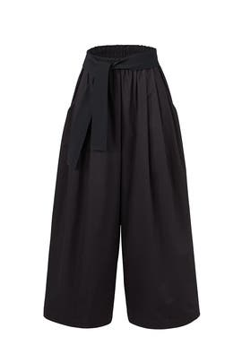 Black Karate Pants by Tome