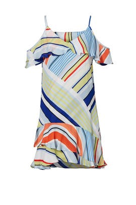 Multi Stripe Thatcher Dress by Parker